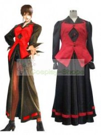 The King of Fighters(KOF) Vice Red and Black Cosplay Costume