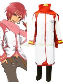 Vocaloid Akaito Cosplay Costume White and Red