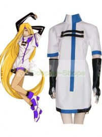 Guilty Gear Millia Rage Cosplay Costume White