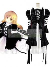 Touhou Project Undefined Fantastic Object.Hiziri Byakuren Black Cosplay Costume
