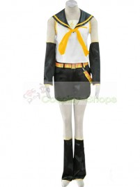 Vocaloid 2 Cosplay Kagamine Rin Cosplay Costume