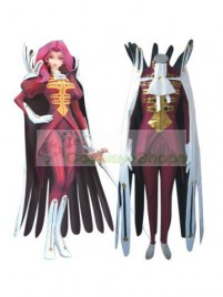 Code Geass Cornelia Li Britannia Cosplay Costume wine red