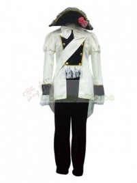 Axis Power Hetalia Hungary Uniform Beige Cosplay Costume