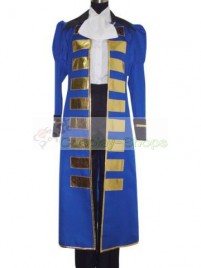 Axis Power Hetalia France Blue Cosplay Costume
