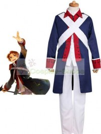 Axis Power Hetalia America Independence War Blue Cosplay Costume