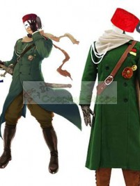 Axis Power Hetalia Turkish Military Green Cosplay Costume