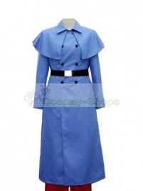 Axis Power Hetalia Blue Cosplay Costume
