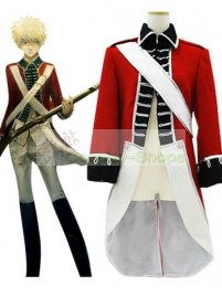 Axis Power Hetalia APH Arthur Kirkland Red Cosplay Costume