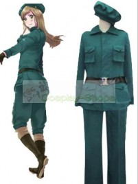 Axis Power Hetalia Hungary Hunter Cosplay Costume