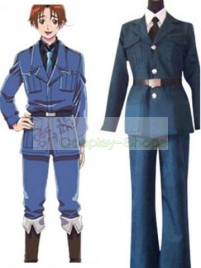 Axis Power Hetalia Feliciano Vargas Dark Blue Cosplay Costume