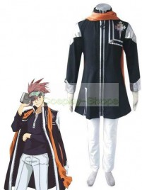 D.Gray Man Lavi Rabi Cosplay Costume Black
