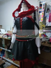 RWBY Red Ruby Rose Volume 4 Cosplay Costume