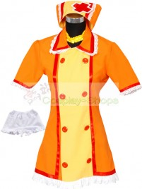 Vocaloid Kagamine Rin Nurse Cosplay Costume