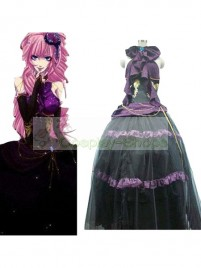Vocaloid the Sandplay Singing of the Dragon Megurine Luka  Cosplay Costume