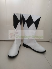 Mighty Morphin Power Rangers Black Ranger Goushi Mammoth Ranger Boots Cosplay