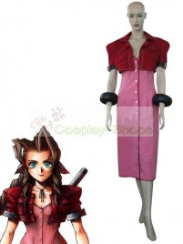 Final Fantasy  VII (Kingdom Hearts ) Aerith Cosplay Costume