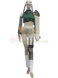 Final Fantasy VII Yuffie Kisaragi Cosplay Costume Hunter and Champagne