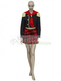 Final Fantasy XIII Agito Female Uniform Cosplay Costume