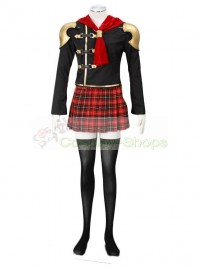 Final Fantasy Type-0 Suzaku Peristylium Class Zero NO.5 Cinque Cosplay Costume