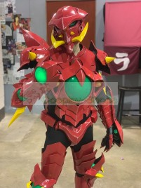 High School DxD Issei Hyoudou Red Dragon Emperor Boosted Gear Scale Mail Cosplay Armor