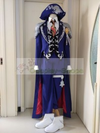 Final Fantasy XIV FF14 Stormblood Blue Mage Magus set Cosplay Costume
