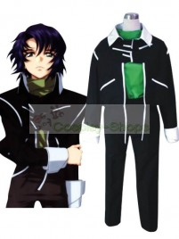 Mobile Suit Gundam SEED Destiny Athrun Zala Black Cosplay Costume