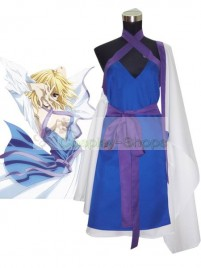 Mobile Suit Gundam SEED Destiny Stella Loussier Blue and White Cosplay Costume
