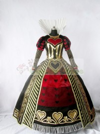 Alice: Madness Returns Queen of Hearts Dress Cosplay Costume