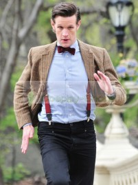 Doctor Who 11th Doctor Matt Smith Full Outfit Cosplay Costume