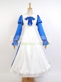 Fate/stay night Saber Arturia Pendragon Housemaid Cosplay Costume