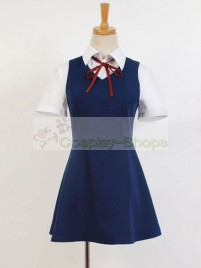 Gugure! Kokkuri-san Jimeko Dress Cosplay Costume