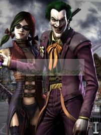 Injustice: Gods Among Us Joker Cosplay Wig