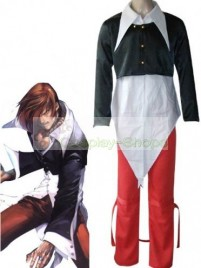 The King of Fighters(KOF) Iori Yagami Black and Red Cosplay Costume