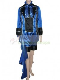 Kuroshitsuji Black Butler II 2 Ciel Phantomhive Blue Cosplay Costume Version B