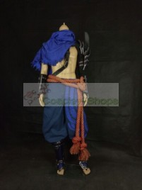 League of Legends LOL Yasuo Full Cosplay Costume