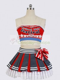 Love Live! Cheerleaders Maki Nishikino Cosplay Costume
