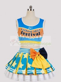 Love Live! Cheerleaders Rin Hoshizora Cosplay Costume