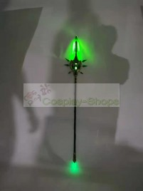 Genshin Impact Xiao Primordial Jade Winged-Spear Cosplay Prop
