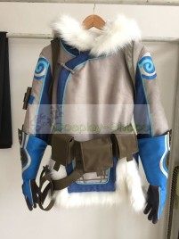 Overwatch Mei Jacket Cosplay Costume