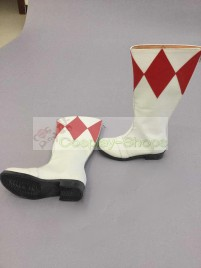 Mighty Morphin Power Rangers Red Ranger / Pink Ranger Boots Cosplay