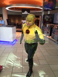 CW flash tv series - The Flash Reverse Flash Full Cosplay Costume
