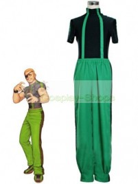 The King of Fighters(KOF) Ramon Green Cosplay Costume