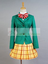 Yowamushi Pedal Kanzaki Miki School Uniform Cosplay Costume