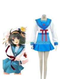 Suzumiya Haruhi Japanese School Uniform Cosplay Costume