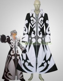Kingdom Hearts Xemnas White and Black Cosplay Costume