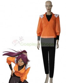 Bleach -  Yoruichi Shihoin Orange Jumper Cosplay Costume