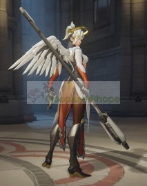 Overwatch Mercy Full Armor Cosplay