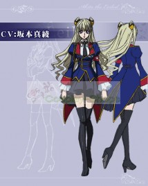 Code Geass GAIDEN Layla•Markale Uniform Dress Cosplay Costume from Code Geass