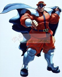 Street Fighter Bison Cosplay Costume with armors
