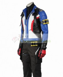 Overwatch Soldier 76 Jack Morrison Cosplay Costume